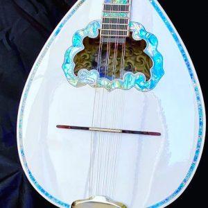 Fine 8-string Custom bouzouki Blue