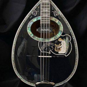 Fine 8-string Custom bouzouki Harp