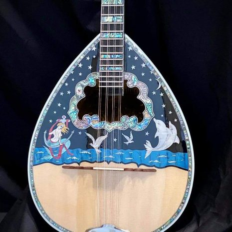 Traditional Fine 8 strings custom bouzouki